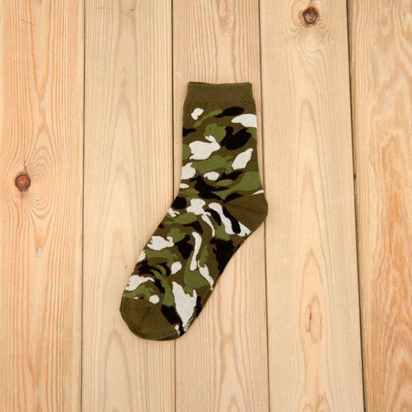 Носки военной палитры Mantieqingway Military Green