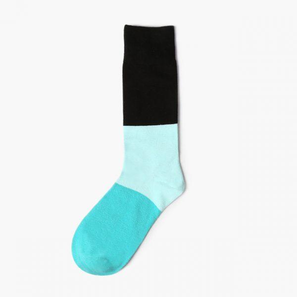 Носки Mono трехцветные с мятным оттенком