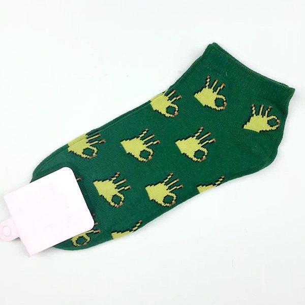 Короткие спортивные носки Caramella с изображениемOK