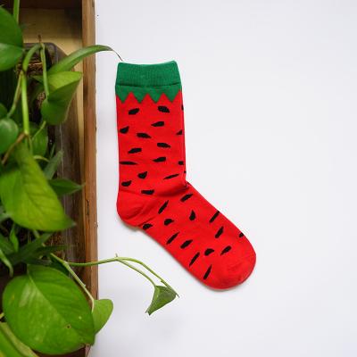 Носки Caramella высокие с изображением арбуза