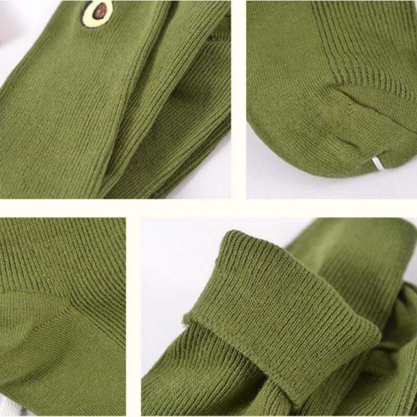 Плотные носки Menteur с изображением авокадо в винтажном стиле