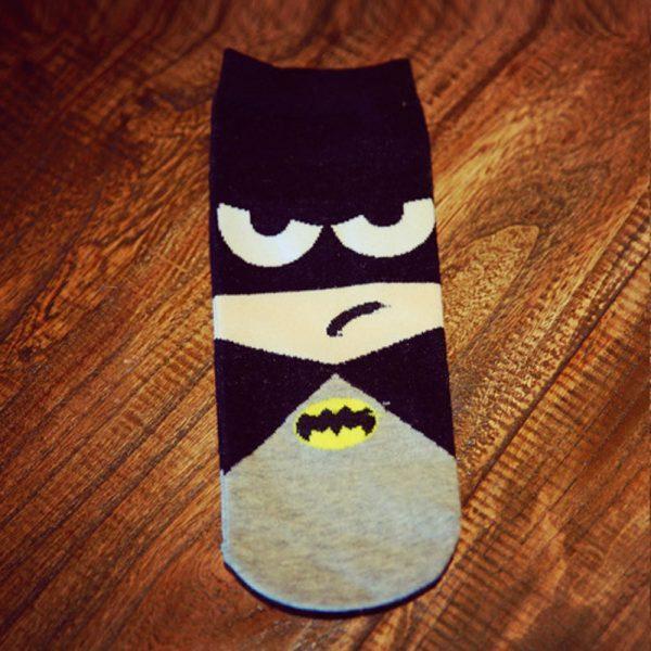 Короткие спортивные носки Bentain серии Superhero с изображениемБетмена