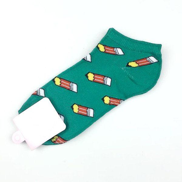Короткие спортивные носки Caramella с изображением карандаша