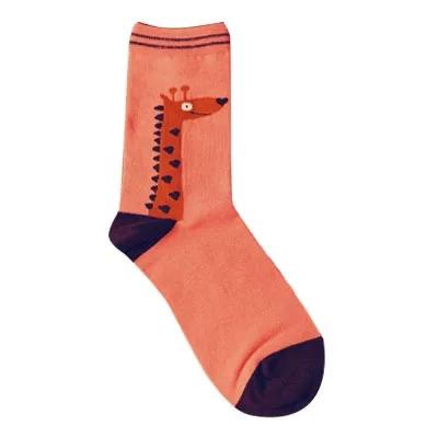 Носки Caramella высокие с изображением жирафа