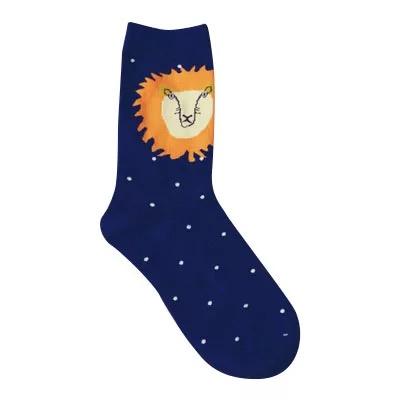 Носки Caramella высокие с вышивкойльва