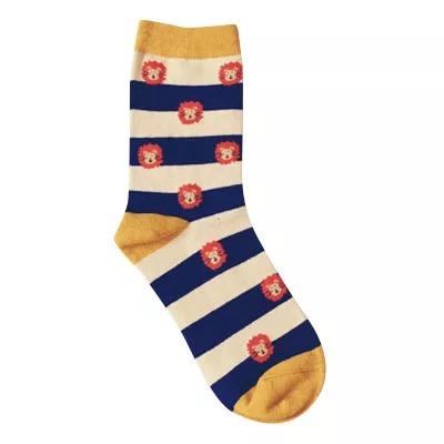 Носки Caramella высокие с вышивкойльвов