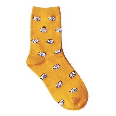 Носки Caramella высокие с изображением слонов