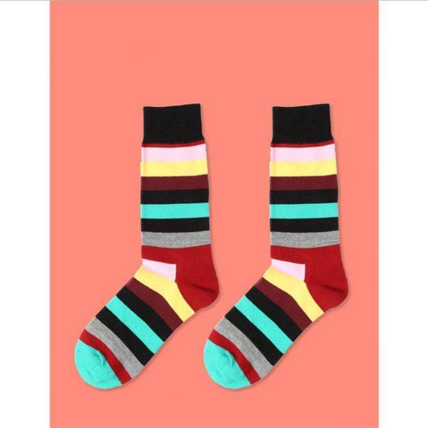 Цветные полосатые носки RainbowBYB