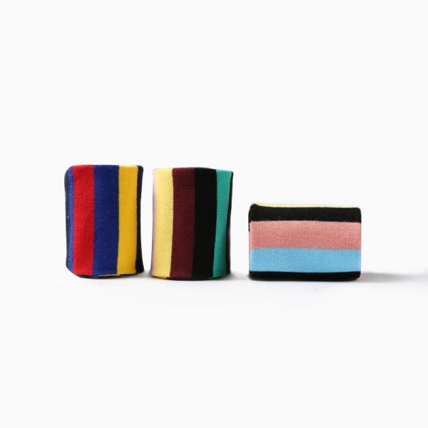 Цветные полосатые носки Rainbow BBB