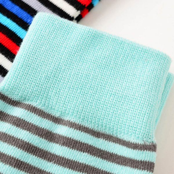 Веселые повседневные носки с синей базой