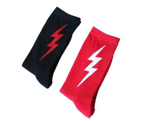 Уникальный дизайн носков с молнией!