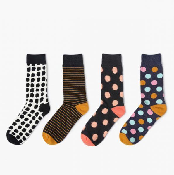 Хипстерские носки с линиями Barber Stue 8 Lines