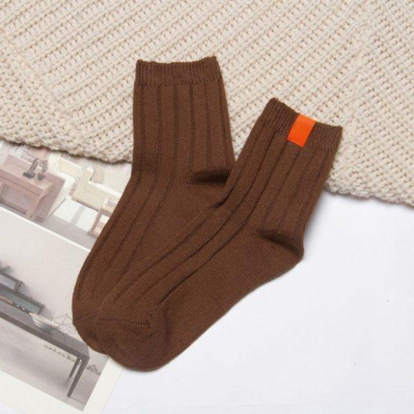 Коричневые носки Swoki