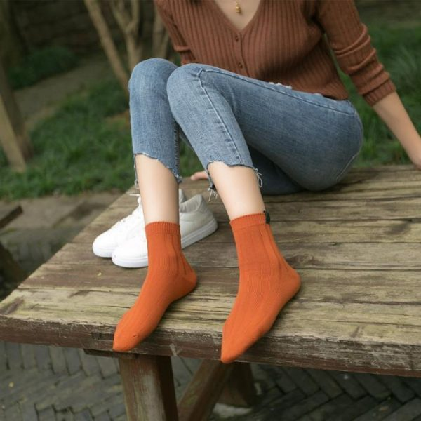Оранжевые носки Swoki