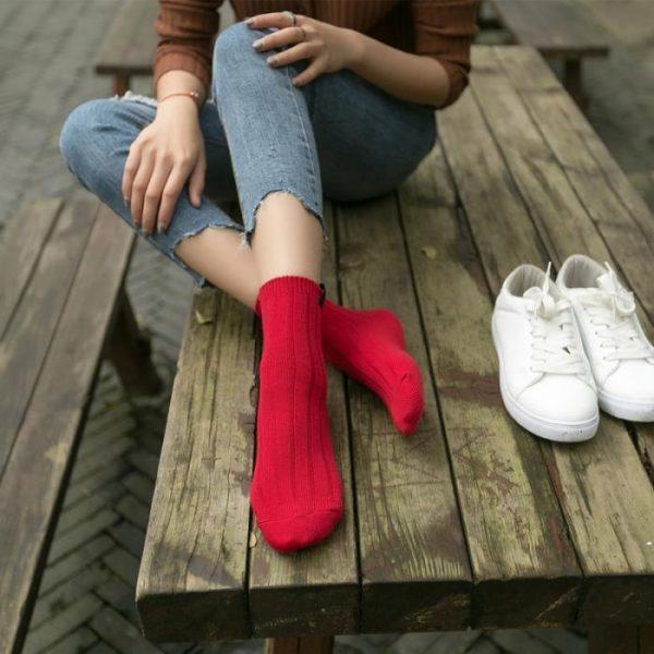 Красные носки Swoki