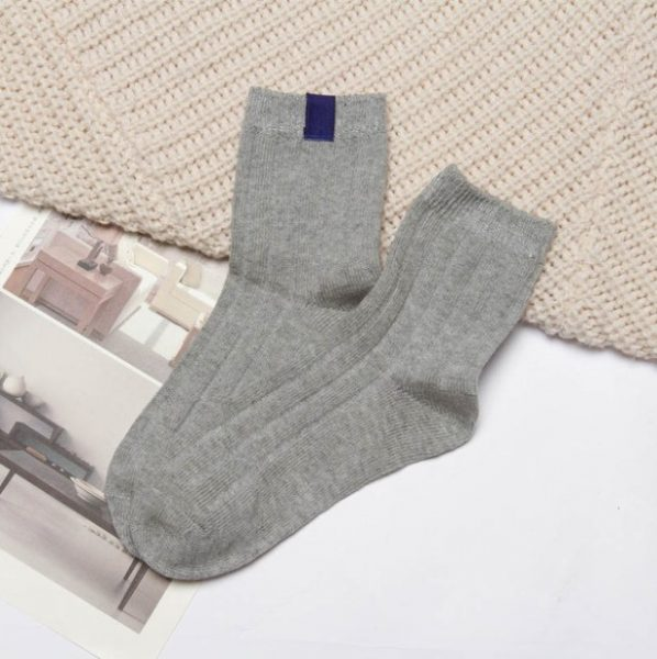 Серые носки Swoki