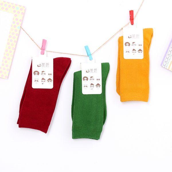 Носки без рисунка розового цвета от маркиArherigele