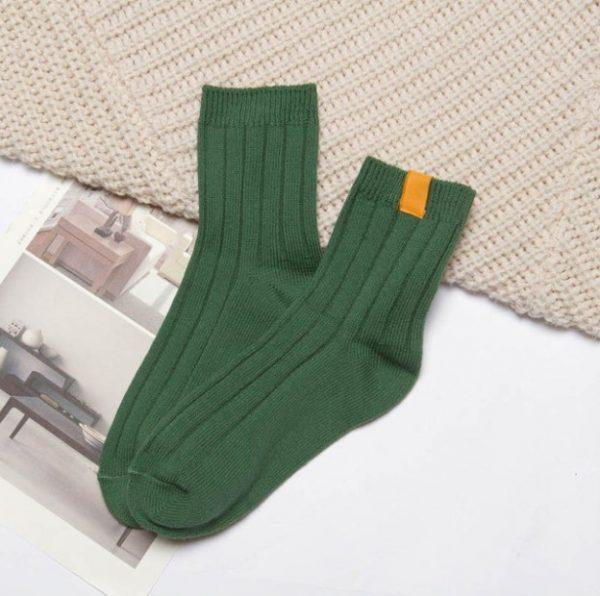 Зеленые носки Swoki