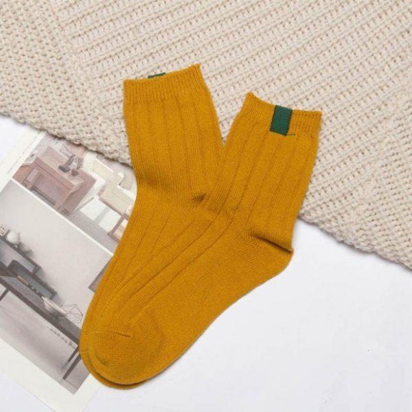 Желтые носки Swoki
