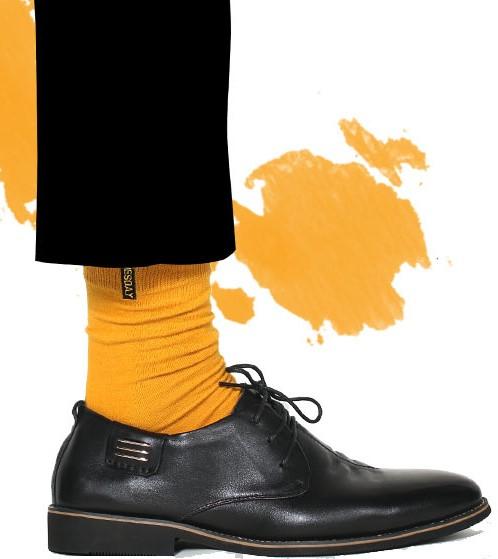 Желтые носки