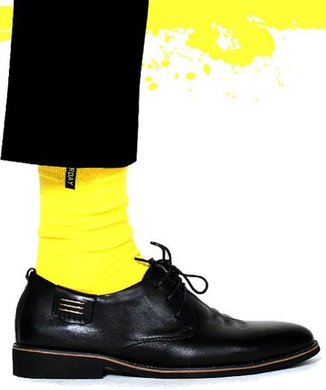 Светло-желтые носки