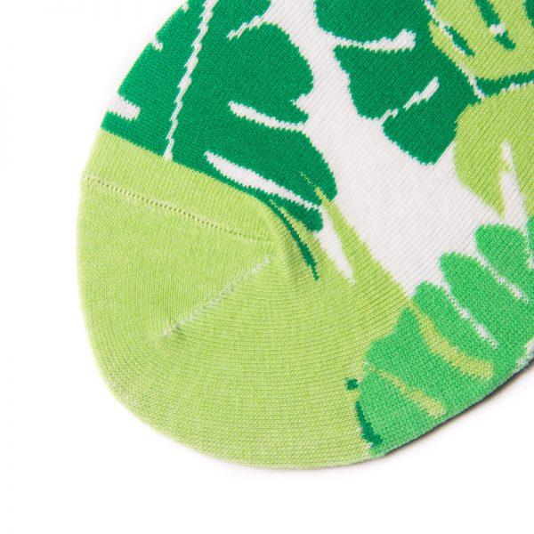 Носки унисекс Cozy Garden Vegan Leafs с листьями